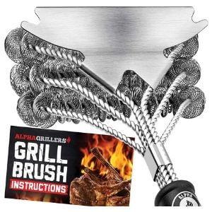 Alpha Griller Bristle-Free Brush