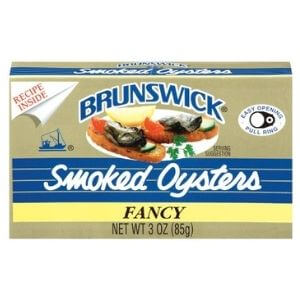 BRUNSWICK Fancy Smoked Oysters