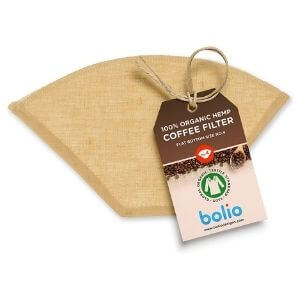 Bolio Organic Hemp Cone Coffee Filter