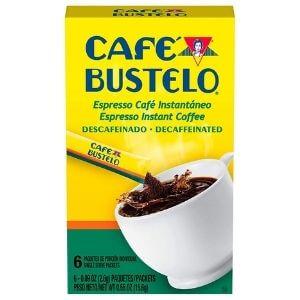 Café Bustelo Espresso Decaffeinated Instant Coffee