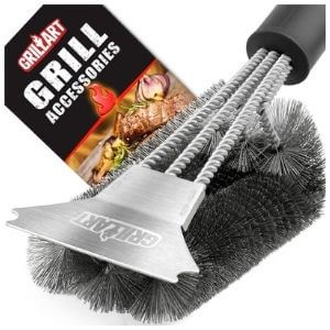GrillArt Extra Strong Brush And Scraper