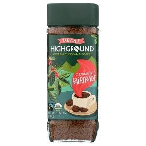Highground Organic Instant Decaf Coffee