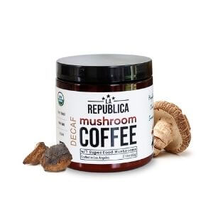 La Republica Decaffeinated Organic Mushroom Coffee