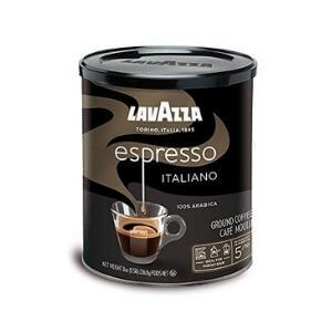 Lavazza Medium Roasted Caffe Espresso Ground Coffee Blend