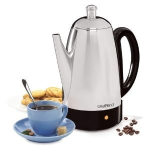 West Bend Stainless Steel Coffee Percolator
