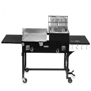 Barton Flat Top Griddle And Deep Fryer