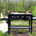 outdoor griddle grill