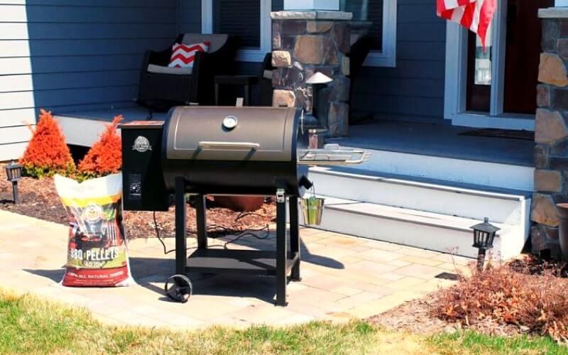 pit boss 820 pellet grill