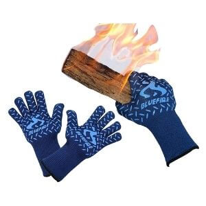 BlueFire Gloves BBQ Grill Firepit Oven Mitts