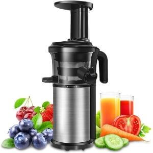 Compact And Portable Masticating Cold Press Juicer