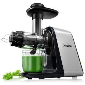 Oneisall Slow Masticating Juicer Extractor