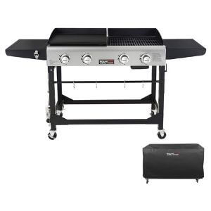 Royal Gourmet GD401C Flat Top Gas Grill and Griddle Combo