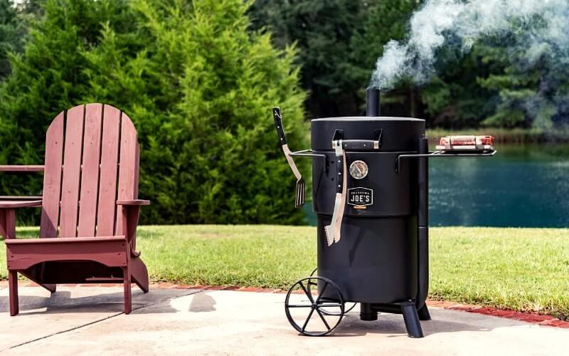 barrel smoker grill