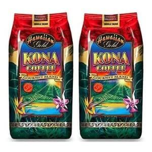 Hawaiian Gold Gourmet Blend Whole Coffee Bean