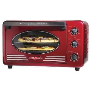Nostalgia RTOV2RR Toaster Oven