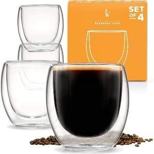 Espresso Cups Shot Glass Coffee Set