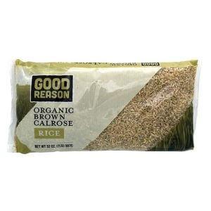 Good Reason Organic Brown Calrose Rice