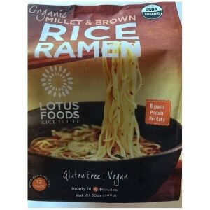Lotus Foods Organic Brown Rice Ramen