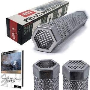 Premium Hexagon Wood Pellet Smoker Tube