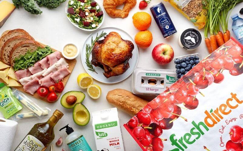 FreshDirect Products Delivers