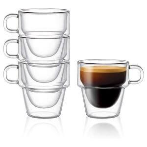Stoiva Espresso Glass Cups