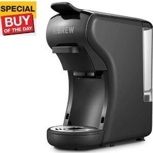 HiBREW 2-in-1 Mini Espresso Coffee Maker