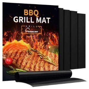 Aoocan Non-Stick Heavy-Duty BBQ Grill Mat Set