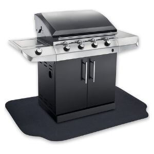 GrillTex Protective Under-the-Grill Deck and Patio Mat