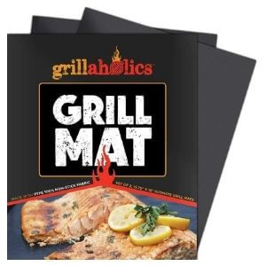 Grillaholics Heavy-Duty Grill Mat Set