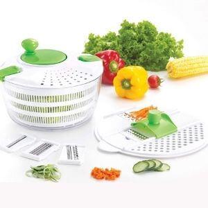 HUJI Multifunctional Large Salad Spinner
