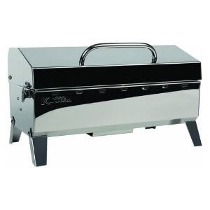 Kuuma Premium Stainless Steel Mountable Charcoal Grill