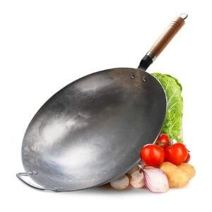 COUNER Traditional Carbon Steel Wok