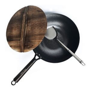 Carbon Steel Wok for Electric