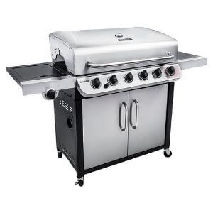 Char-Broil 6-Burner Cabinet Gas Grill