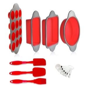 Silicone Baking Molds and Utensils