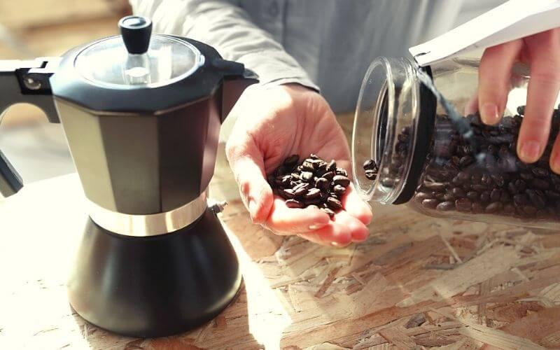 Brew Coffee in a Percolator