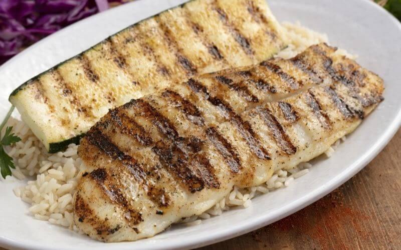 Grill Swai Fish