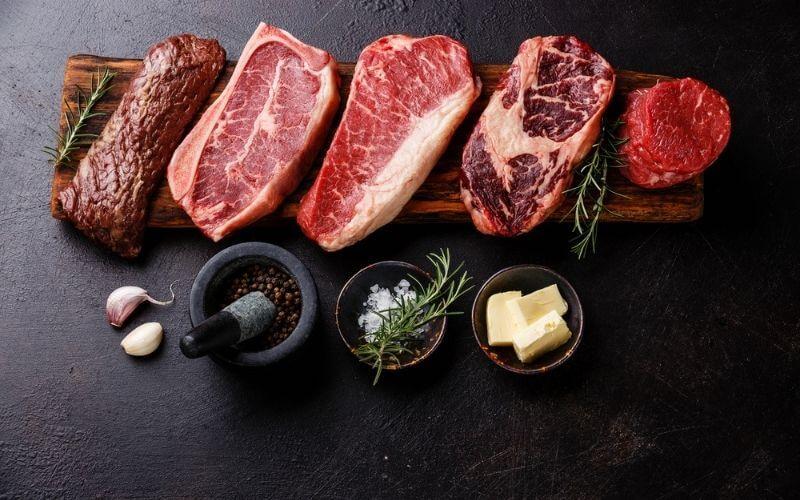 cooking frozen steak in airfryer