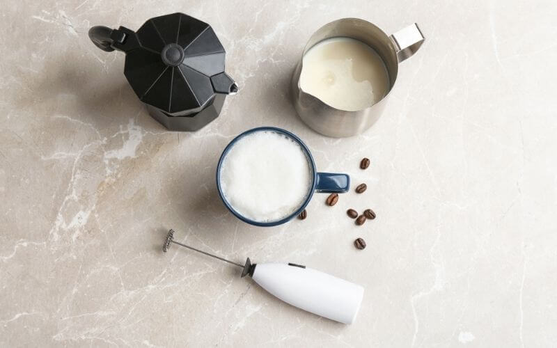 latte milk frother