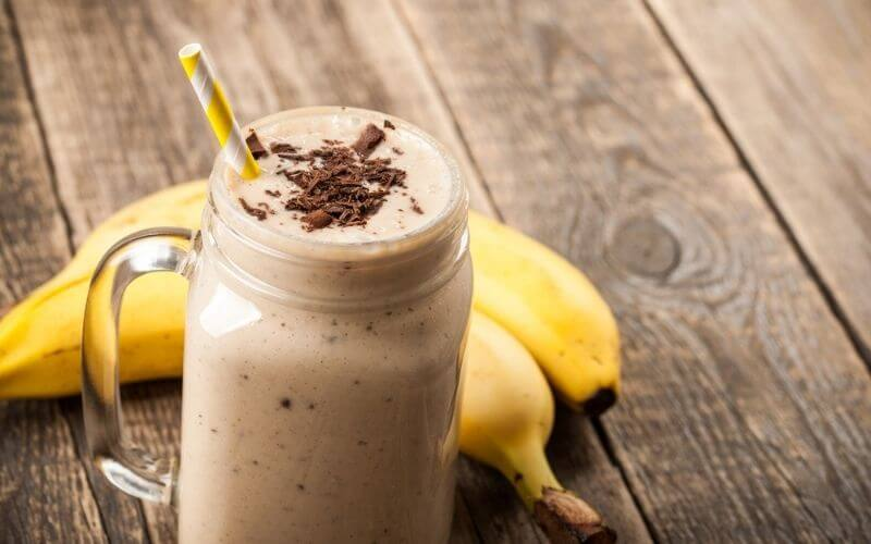Chocolate Protein Smoothie with Spinach