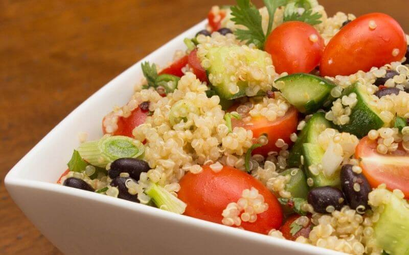 Morning Quinoa with Beans