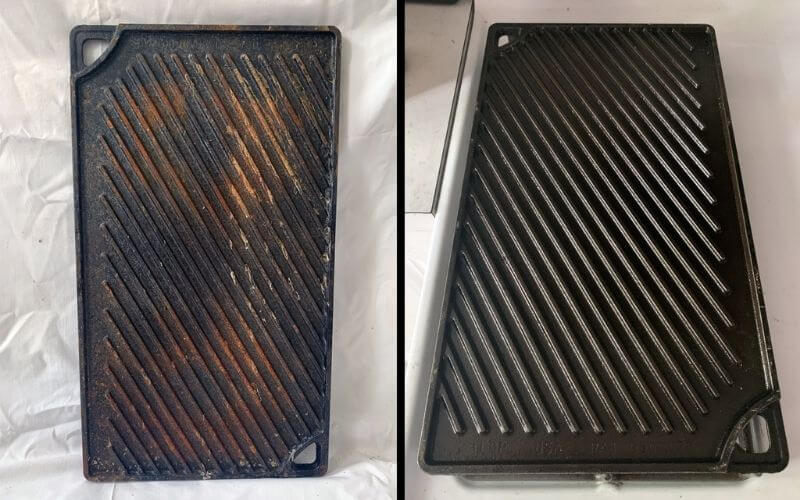 Removing Rust from Grill Pan