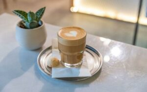 cortado coffee drink
