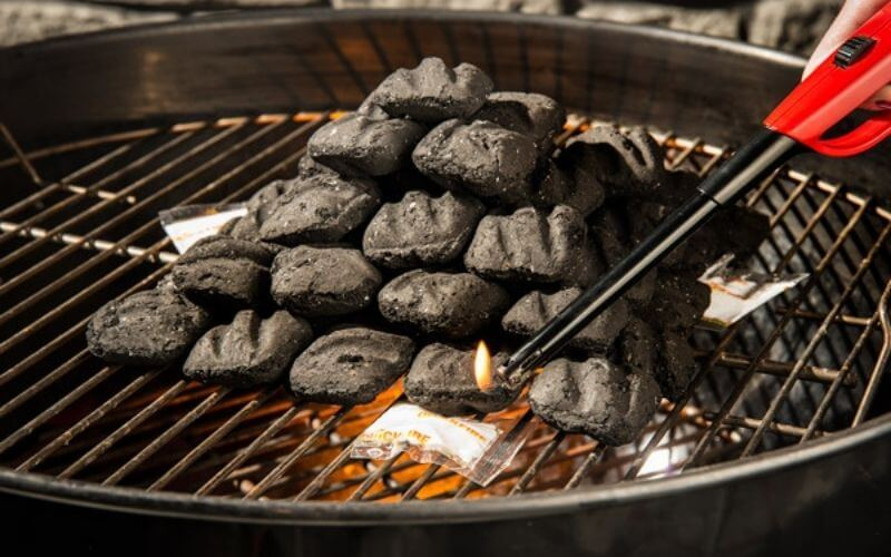 Charcoal BBQ with Fire Starters