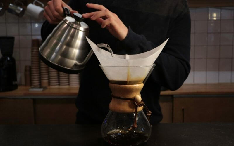 How to Brew Coffee with the Chemex