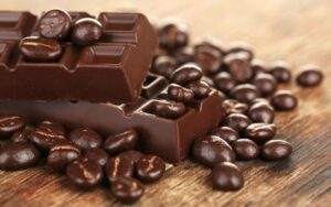 caffeine in chocolate covered coffee beans
