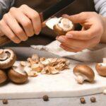 baby portobello mushroom