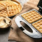 clean waffle iron grids