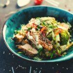 freeze chicken salad