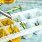 olive oil in refrigerator